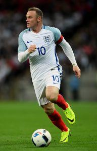 Rooney on nuorekkaan Englannin henkinen johtaja. Kuva: Getty