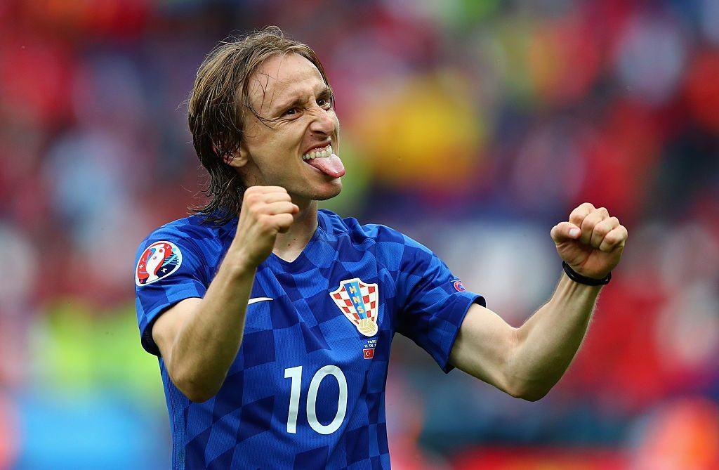 Luka Modric ja Kroatia aloittivat kisat erinomaisesti. Kuva: Getty