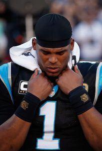 Cam Newtonin kausi päättyi suureen pettymykseen, mutta se ei himmennä tä (Getty)