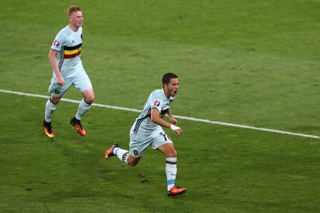 Belgian peli rakentuu näiden kahden tähden ympärille (Getty).