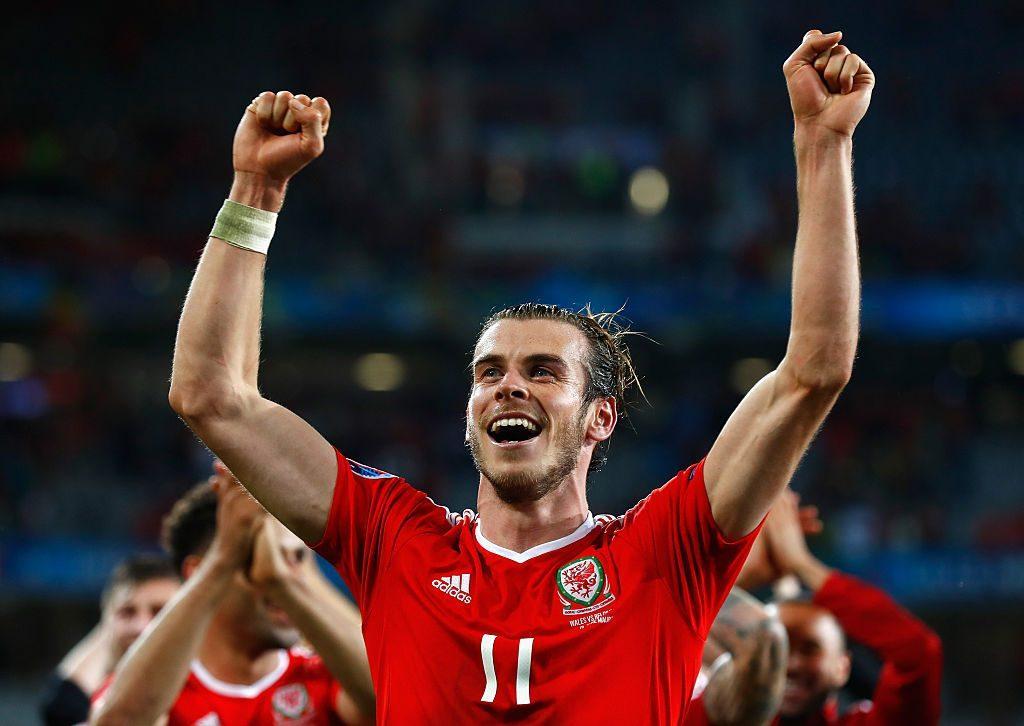Gareth Bale on kolmella maalillaan Walesin paras maalintekijä. Kuva: Getty