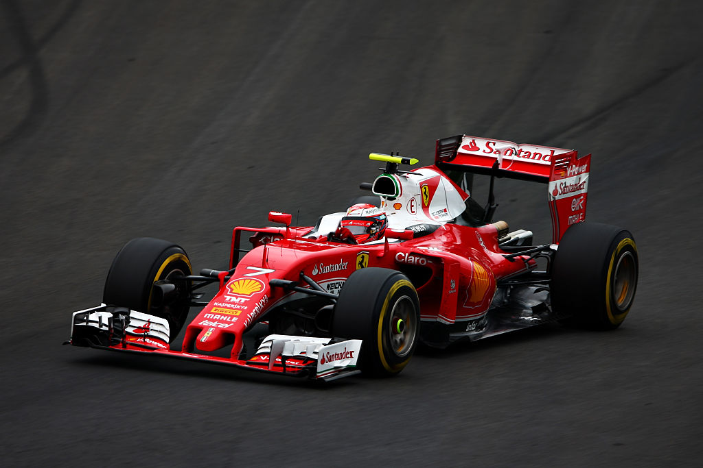 Kimi Räikkönen kolmanneksi Itävallan GP:ssä (Kuva: Dan Istitene / Getty Images)