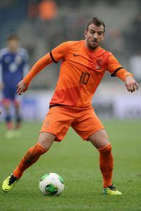 +++ during the International Friendly match between the Netherlands and Japan on November 16, 2013 in Genk, Belgium.