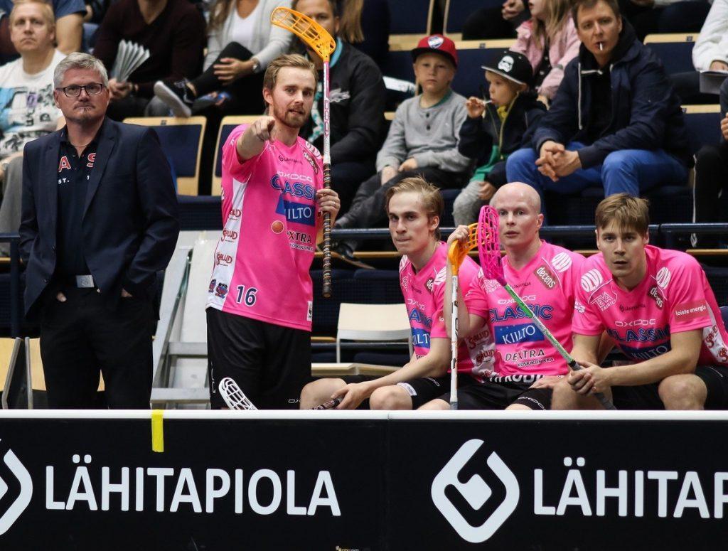 Tampereen Classic ei ole suostunut häviämään ja jatka tappioitta. Kuva: Salibandyliiga