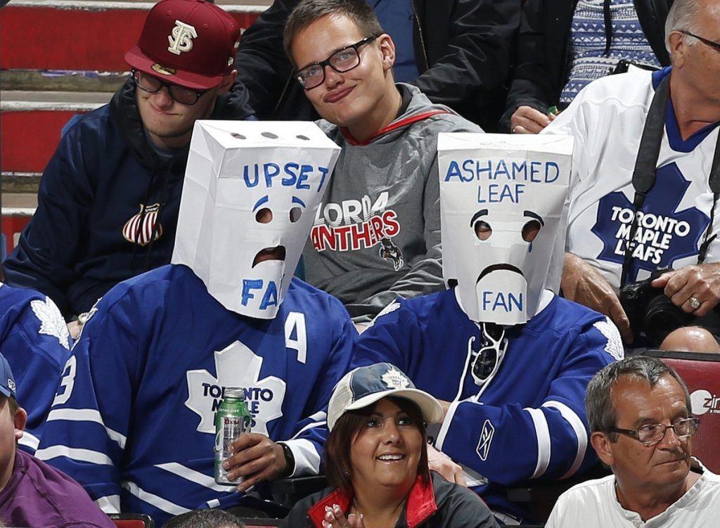 Torontossa ei ikuisesta optimistista huolimatta olla viime vuosina juhlittu. Kuva: Getty