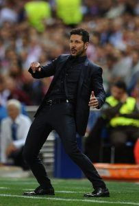 Intohimoinen Diego Simeone on menestynyt 4–4–2-formaatiolla. Kuva: Getty