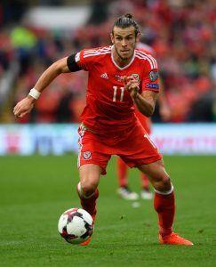 Walesin supertähti Gareth Bale on kenties kovin Englannissa kasvatettu pelaaja tällä hetkellä. Kuva: Getty