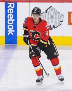 Johnny Gaudreaulla on kivireki vedettävänään Calgaryssä. Kuva: Getty