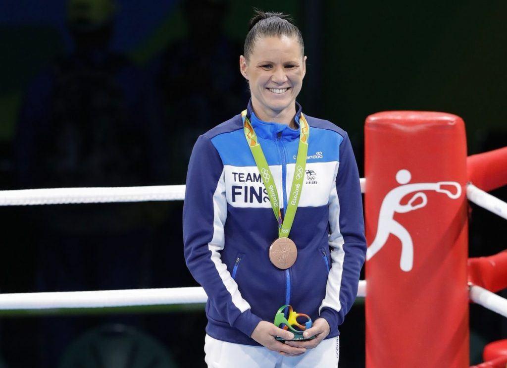 Mira Potkosen pronssista on tullut suomalaisen huippu-urheilun laman symboli. Kuva: AOP