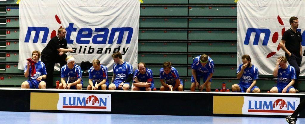 M-Team on ollut surullinen ilmestys tämän kauden Salibandyliigassa. Kuva: Salibandyliiga
