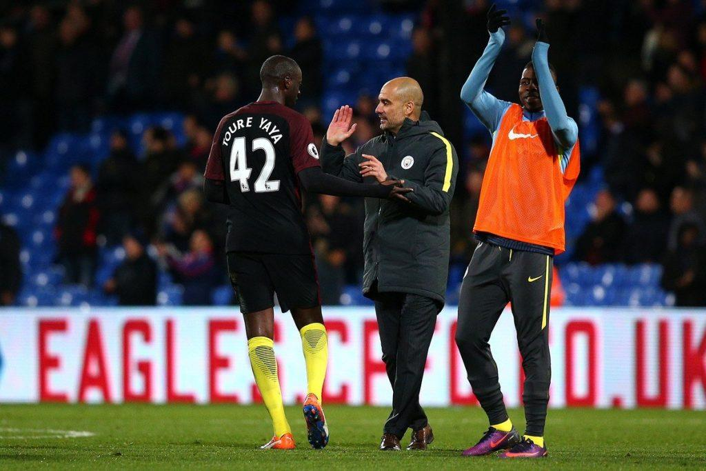 Jännä nähdä luottaako Guardiola huippuottelussa kokeneeseen Yaya Toureen? Kuva: Getty