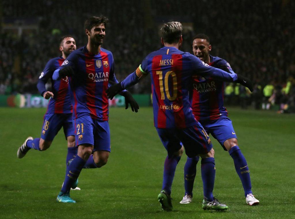 Messin johtama Barca-hyökkäys on tuhonnut vastustajia tuttuun tapaansa. Kuva: Getty