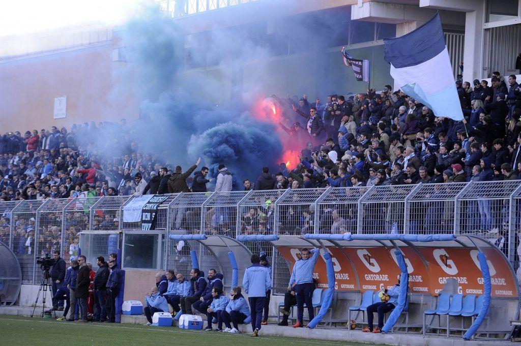 Lazion harjoituksissa on tätä nykyä parempi tunnelma kuin seuran kotipeleissä. Kuva: Getty